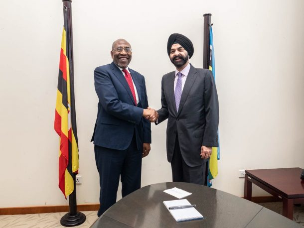 Mastercard CEO and Uganda