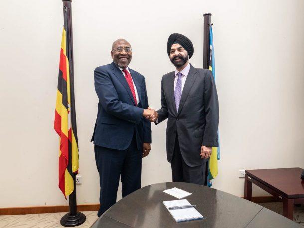 Mastercard CEO and Uganda