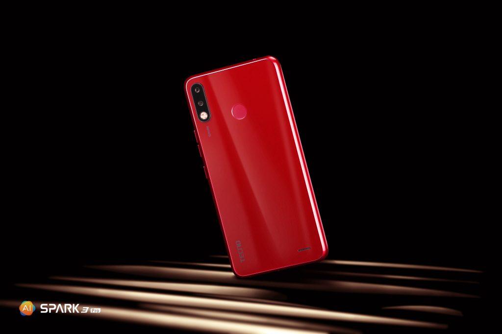 AI powered, high performance SPARK 3 Pro smartphone