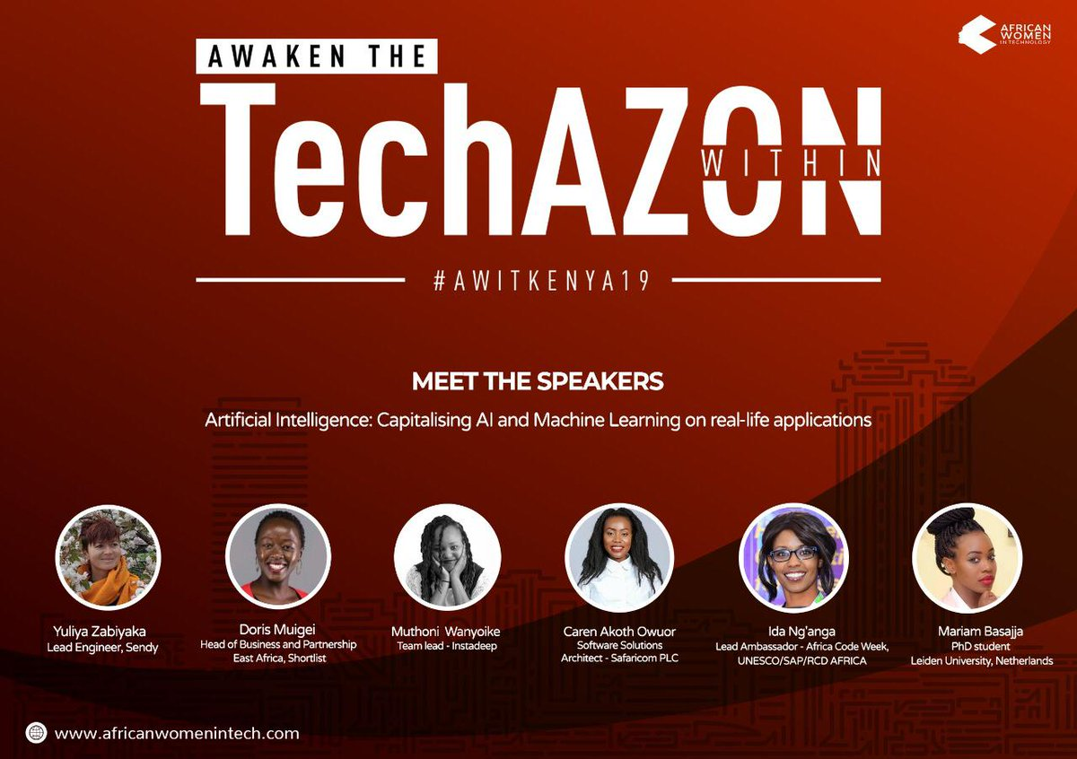 """AWIT's """"Awaken the TechAZON Within"""" seeks to empower African Women"""