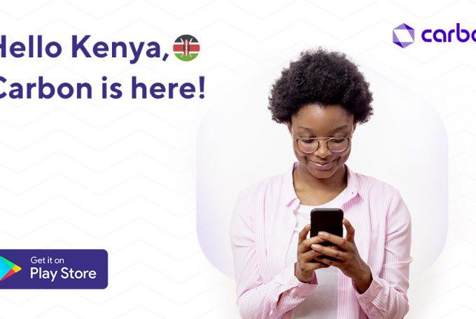 Fintech firm Carbon expands into Kenya