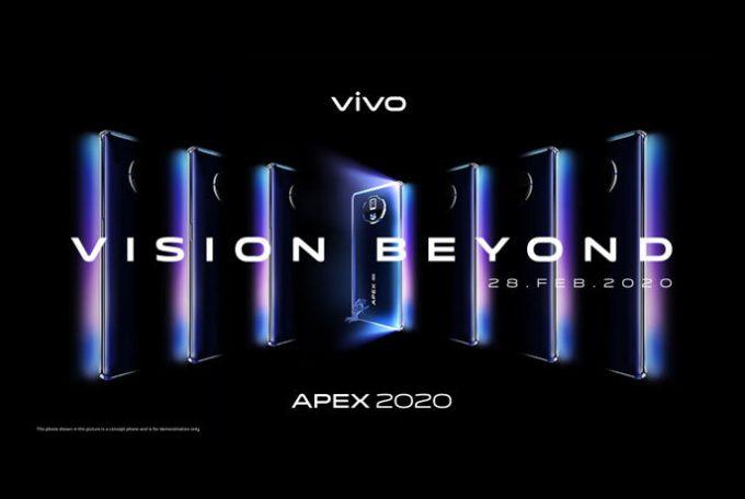 Vivo to launch Apex 2020 Concept phone