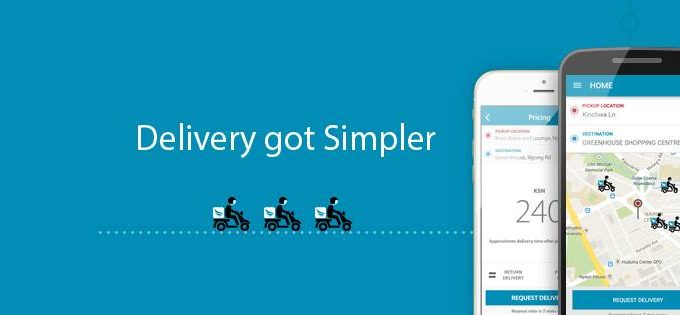 How Sendy – package delivery App works