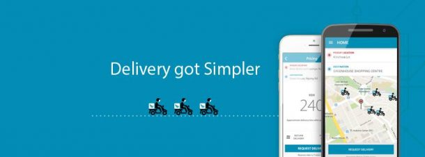 How sendy- package delivery App works