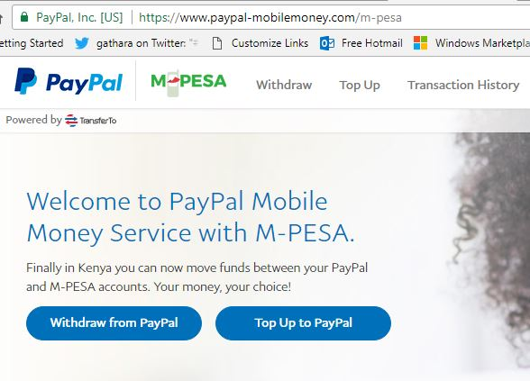How to transfer money from your Paypal account to Mpesa