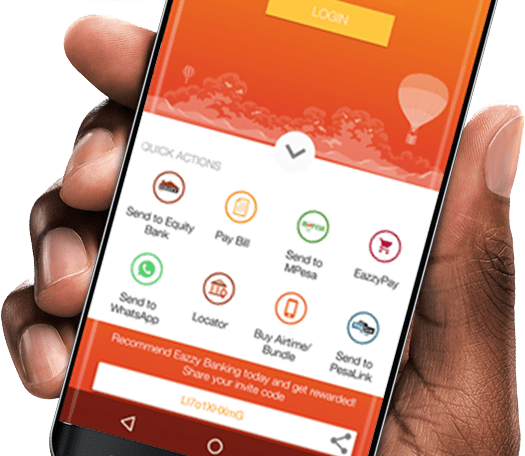 Equity customers can now open accounts via Eazzy Banking app
