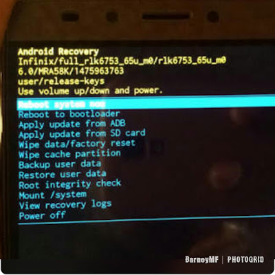 How to bypass Infinix Note 3