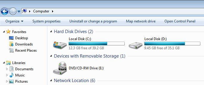 how to partition your drive
