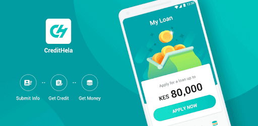 How to borrow a loan from CreditHela App
