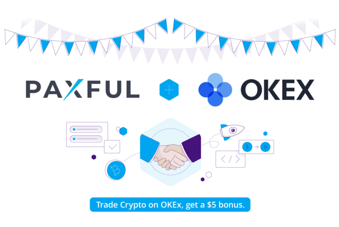 Paxful partners with OKEx to ease payments