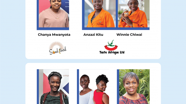 Five Kenyan Women Tech Startups awarded Ksh 1Mn to fund their business