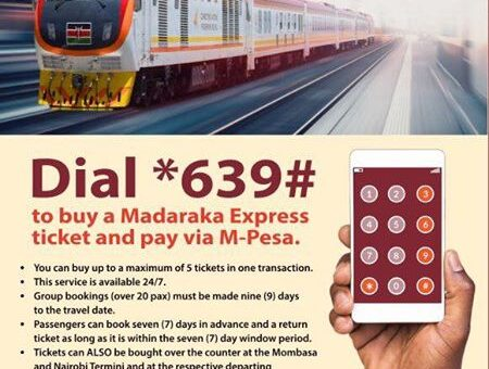 How to Book a SGR Train Online