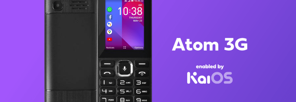 Econet, KaiOS Technology partner to launch Atom 3G Phone