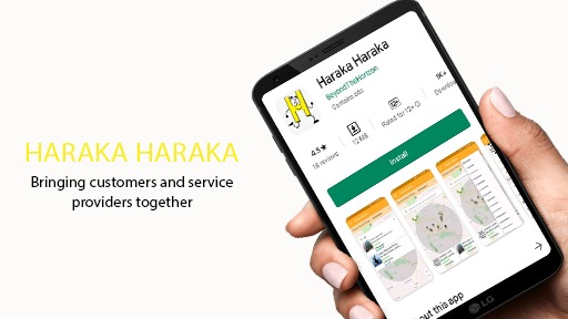 New haraka haraka App to Link Customers with Service Providers