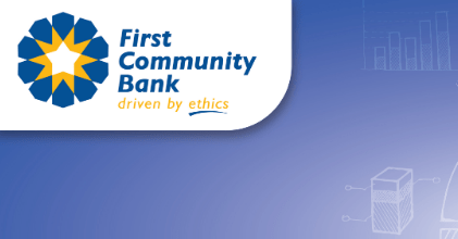 How to deposit money to First Community Bank