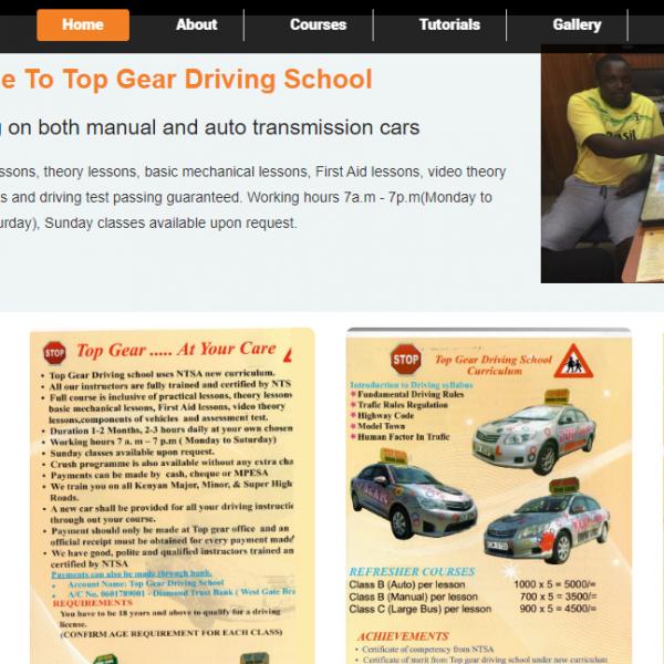 top gear driving