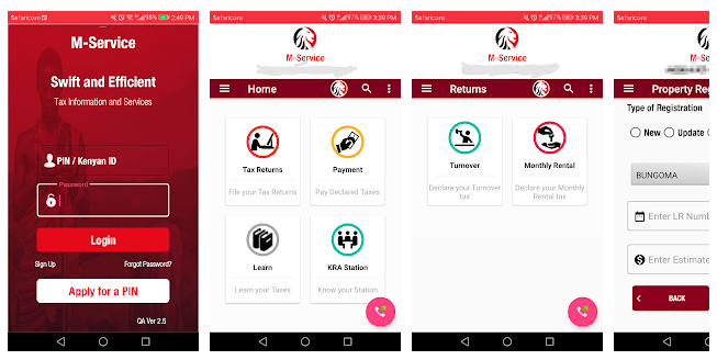 KRA launches M-service App to enable taxpayers access service