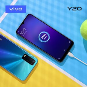 vivo Y20 features AI Triple Camera and a Side Fingerprint Scanner
