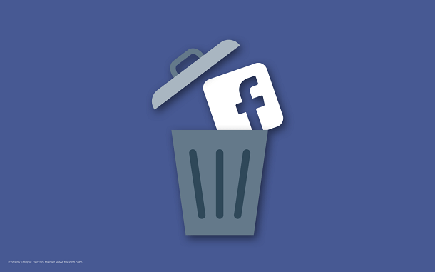 How to permanently delete a Facebook Account