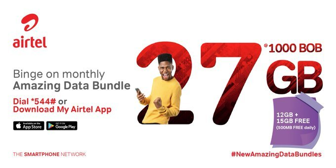 Airtel Kenya has announced that it is giving out 12 GB + FREE 15GB monthly data to its users for only Kshs 1,000.