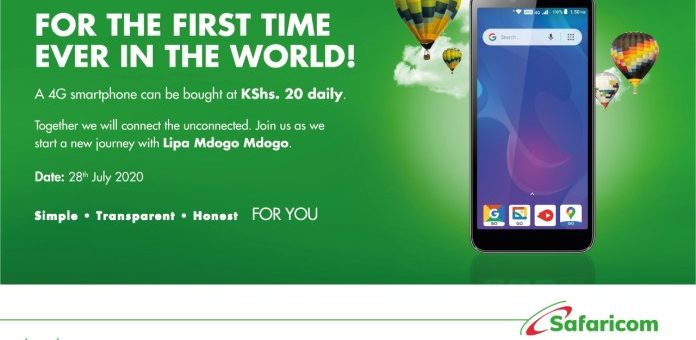 How to get a 4G Smartphone for Kes 20 with Safaricom's Lipa mdogo mdogo