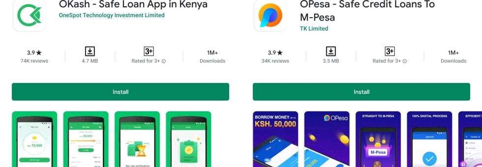 OKash, Opesa loan apps accused of violating Google Play policies