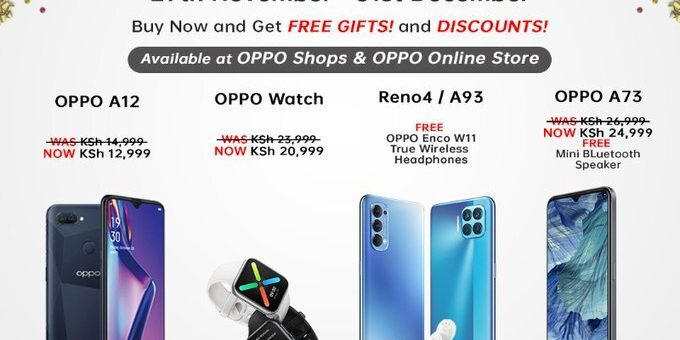 OPPO Kenya gifts customers with Christmas offers