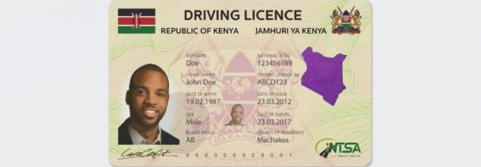 How to apply for the new NTSA smart driving license