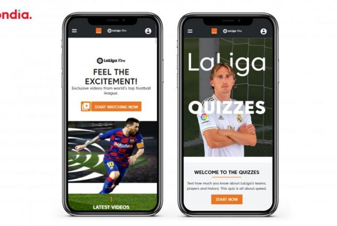 LaLiga signs Mondia as technology partner for Middle East and Africa