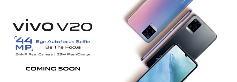 vivo v20 set to launch in Kenya - features 44MP Eye Autofocus Camera