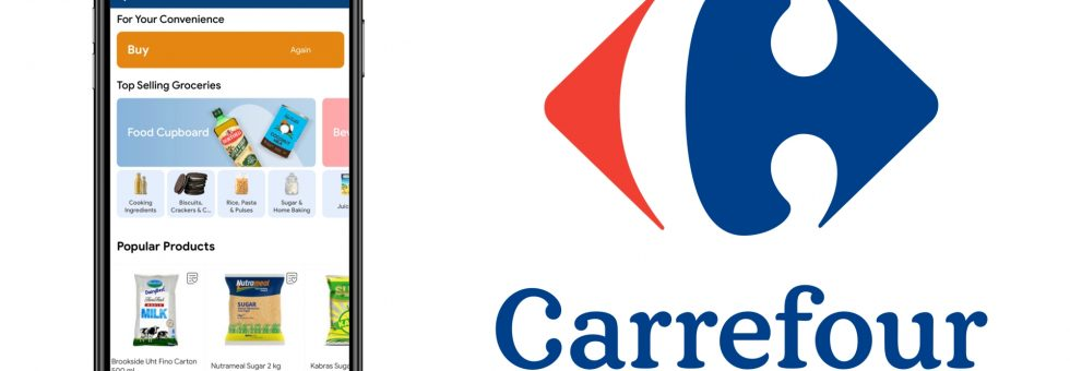 Carrefour Kenya has launched a new mobile app to enhance its online shopping experience
