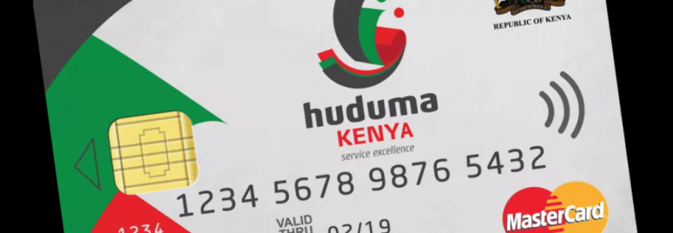 Government to release Huduma Namba - How to get it