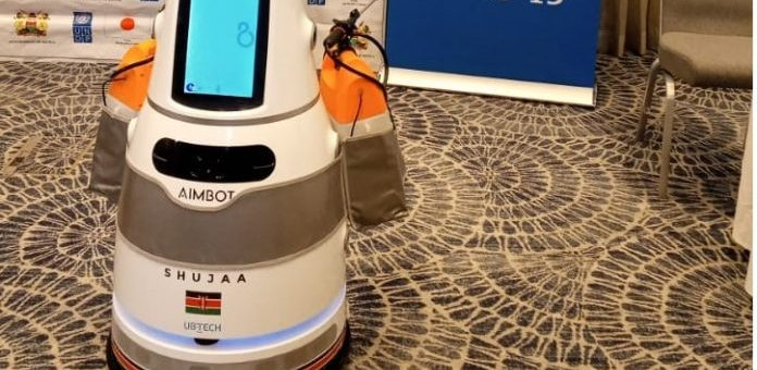 Kenya Health Ministry deploy Robots in fight against Covid-19