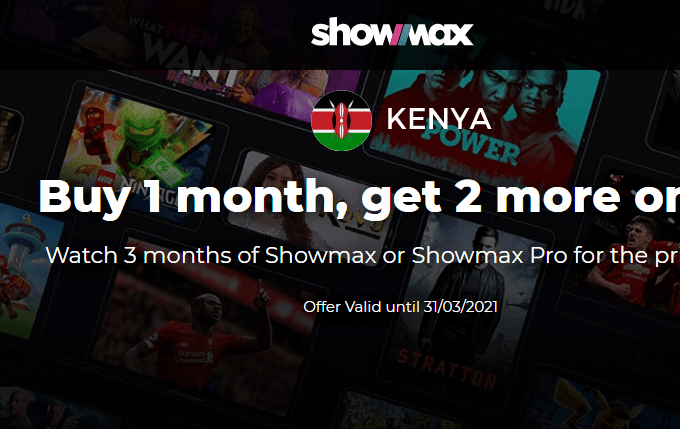Showmax introduces new 3 for 1 deal offer for subscribers