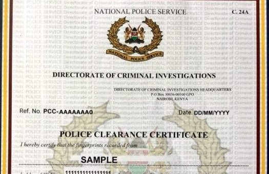 How to Apply for Certificate of good conduct
