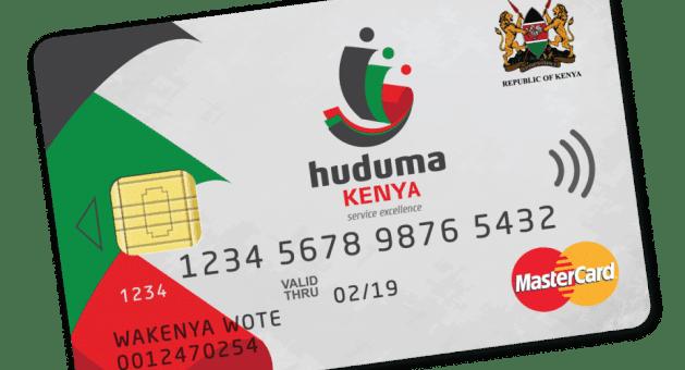 Huduma Namba cards distribution has begun in Nairobi