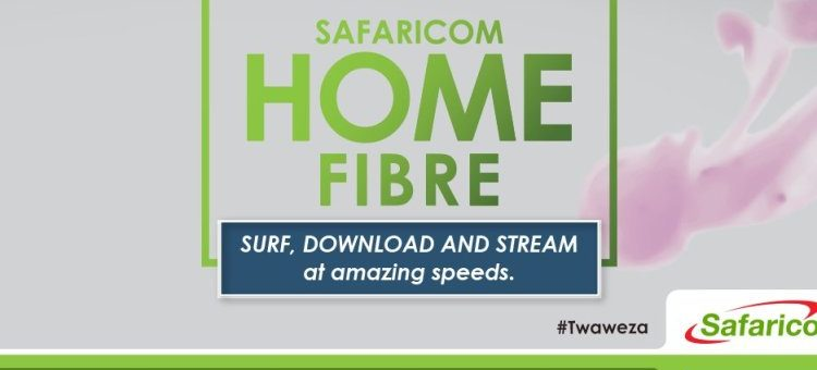 Safaricom Home fibre users to enjoy double internet speeds with new rates