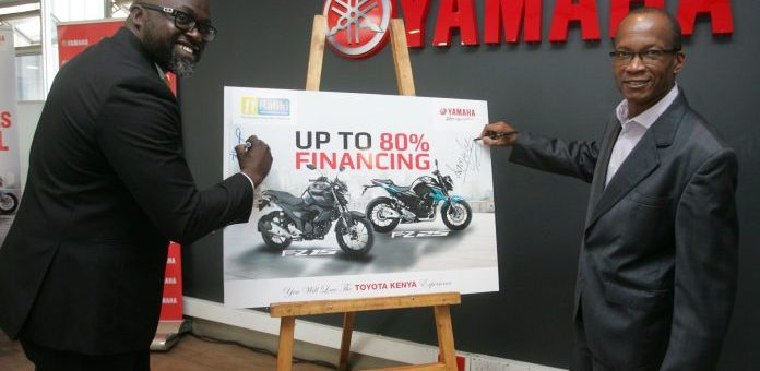 You can now purchase Yamaha motorbikes from as low as Kes.15,000 a month