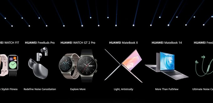 Huawei gifts buyers 50% off on Huawei products
