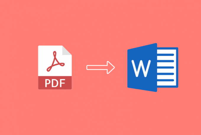 How to Convert PDF to Word or Image to Text