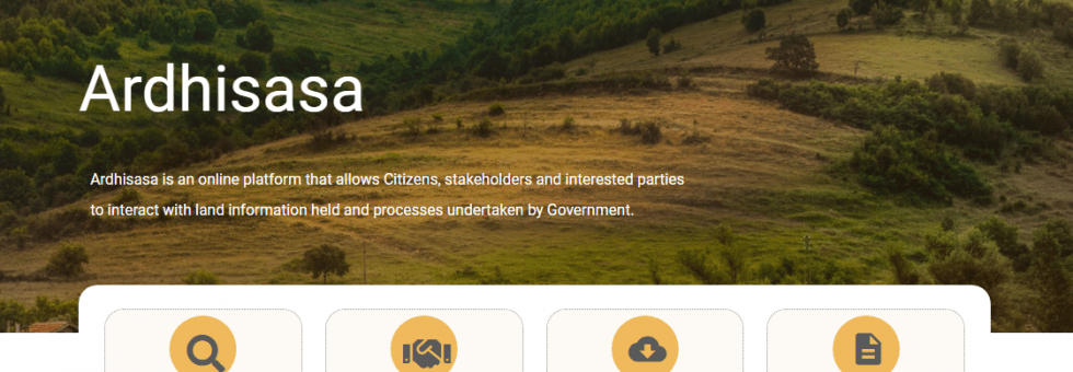 New digitized land records launched - How ArdhiSasa Works