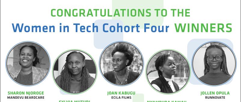 StanChart Women in Tech Incubators awarded USD 10,000 funding