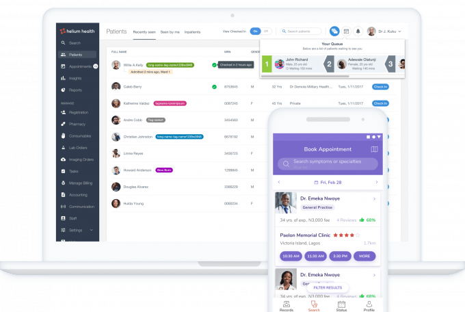 Helium Health launches health tech services in Kenya