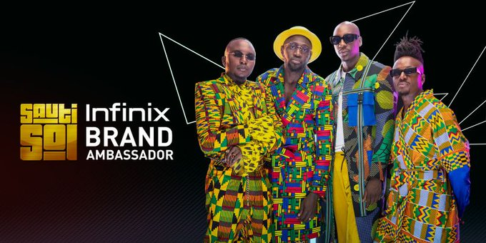 Infinix announces Sauti Sol as its Brand Ambassadors
