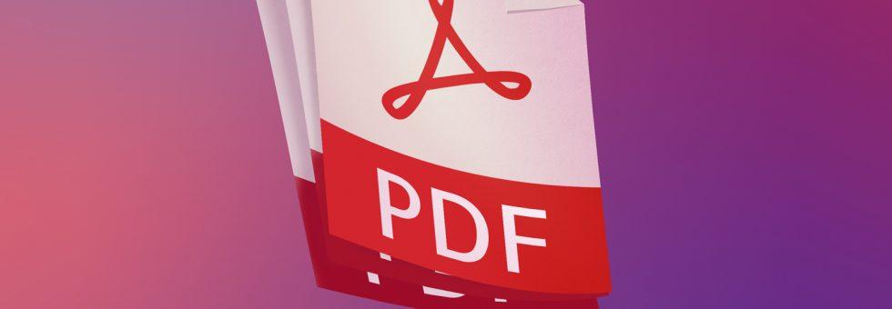 Keeping PDF Files for a Long Time Make a PDF A Version