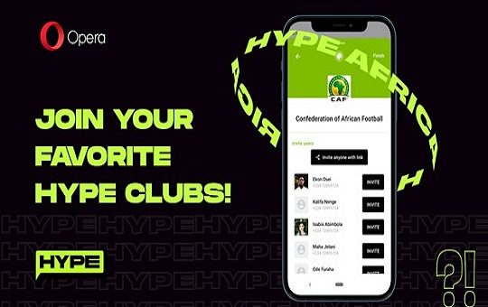 Opera enhances its Hype chat service with new Social Clubs feature
