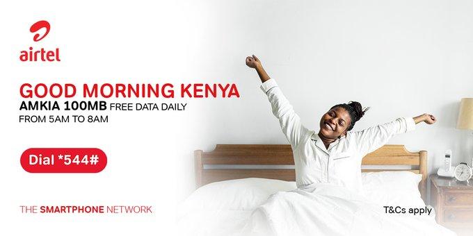 Airtel Kenya rewards customers with 100MB free daily data bundle