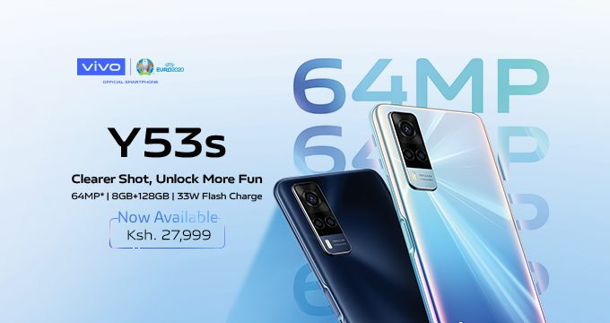 vivo Y53s launched in Kenya retails at Kes. 27,999