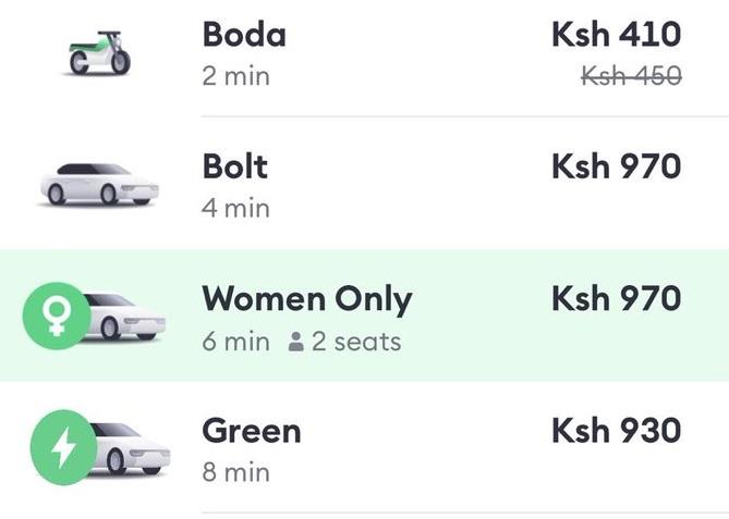 Bolt women only