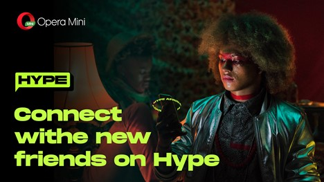Opera upgrades to Hype 1.3 making it super easy to find new friends